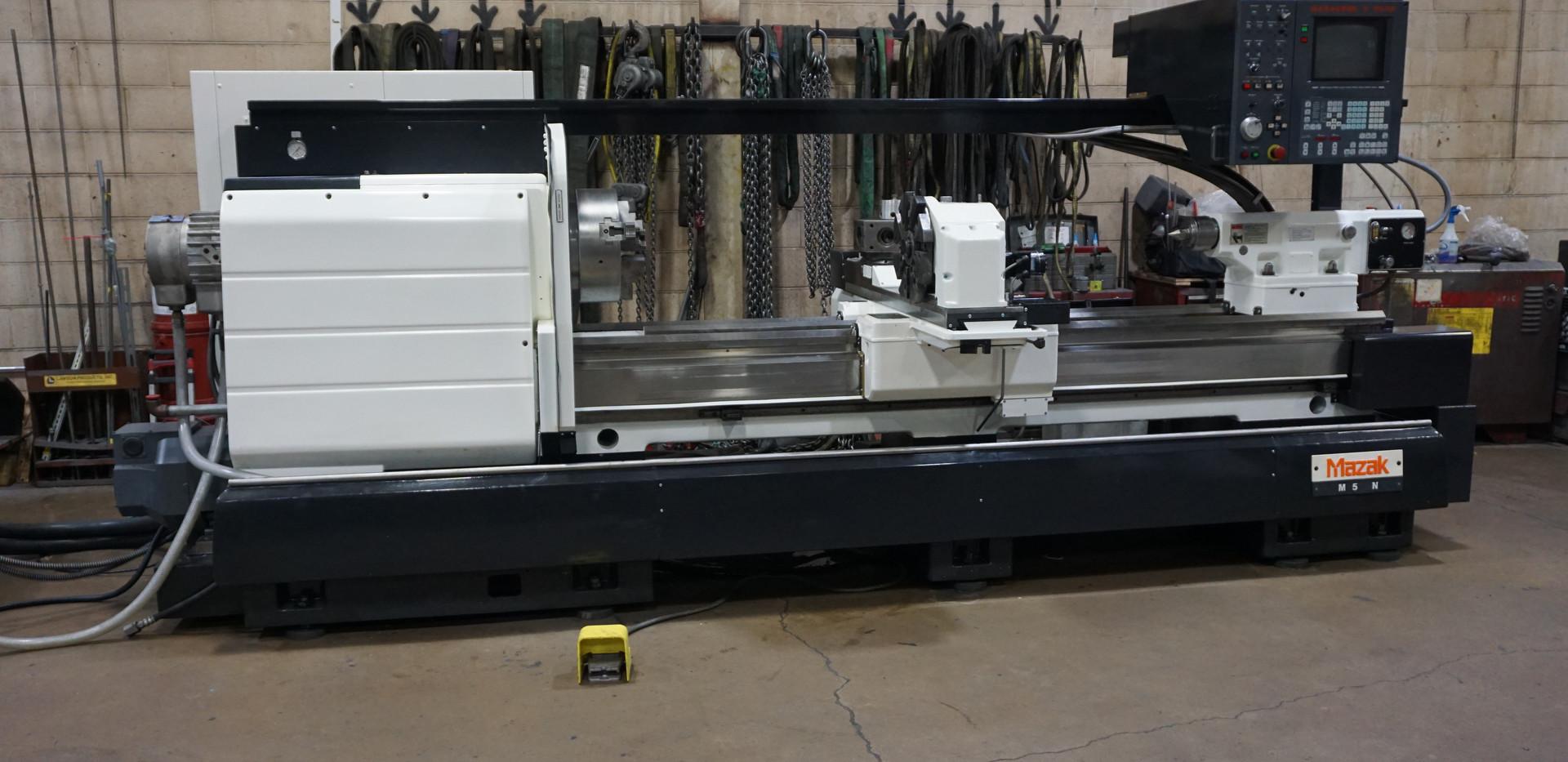 Mazak M5N-2500 Side