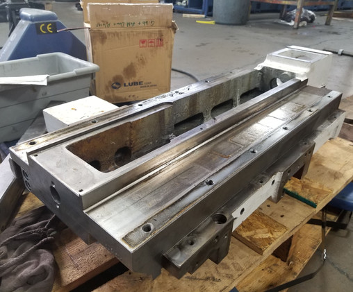 Lathe Bed Scraping