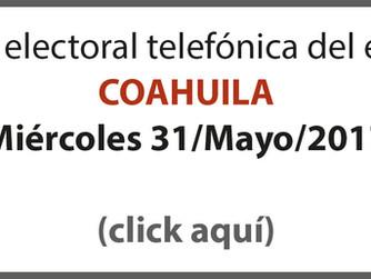 Así llegan los candidatos en Edomex, Coahuila y Nayarit al cierre de las campañas (Massive Caller 31