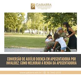 Conversão de auxílio doença em aposentadoria por invalidez: como melhorar a renda da aposentadoria.