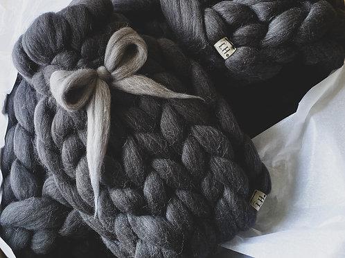 Merino Chunky Knitted Hot Water Bottle