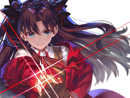 Commission: Magical Rin Tohsaka