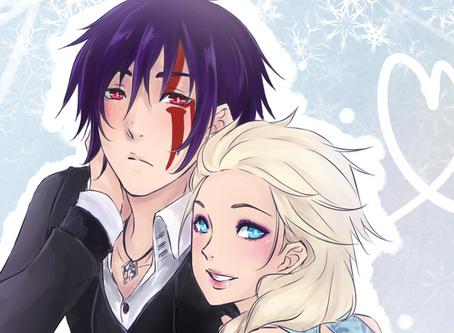 Commission: Frozen Skyrim (Manga Cover)