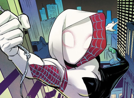 Commission: Spider-Gwen's Chair Spot