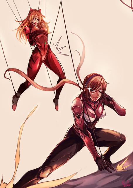 Asuka vs Mari