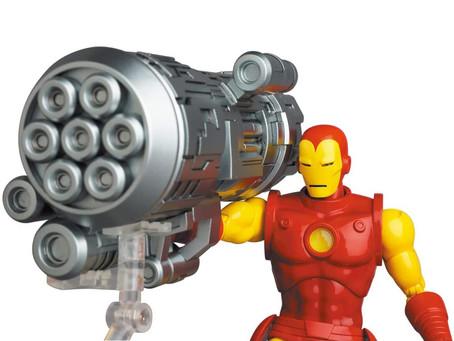 Mafex (News): Comic Book Iron Man