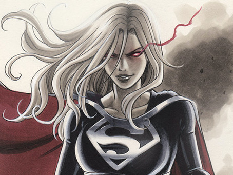 Art Share: Dark Supergirl vs Wonder Woman