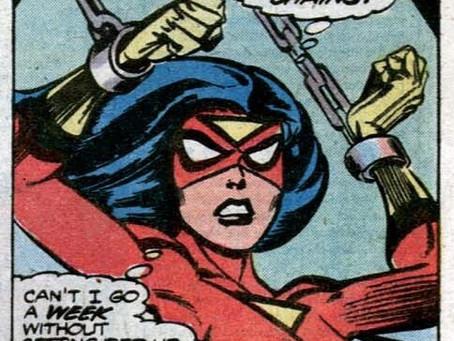 Art Share: Spider-Woman Pose