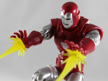 Marvel Legends: Silver Centurion Iron Man (Walgreens)