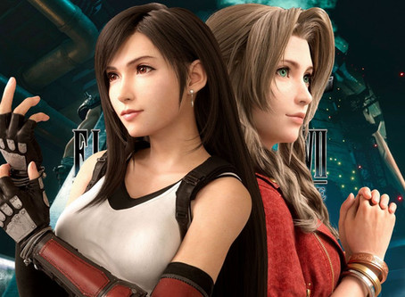 (Not My) commission: Tifa & Aerith w/ Don