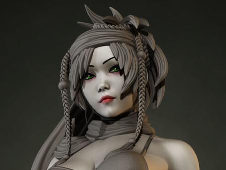 Art Share: Rikku (3D)