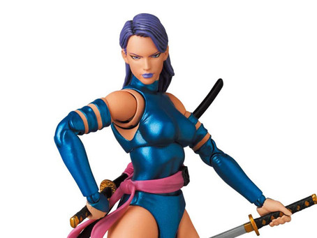 Mafex: (News) Jim Lee Psylocke