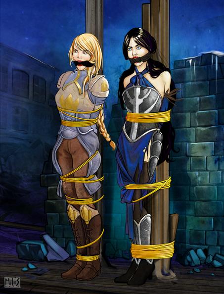 Agrias & Shanoa
