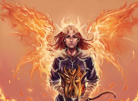 Commission: Kachima & Skyrim Onyxverse