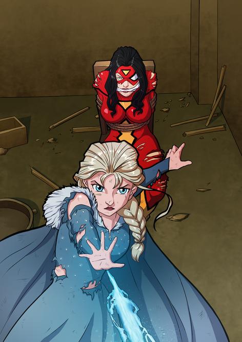 Elsa and Jessica