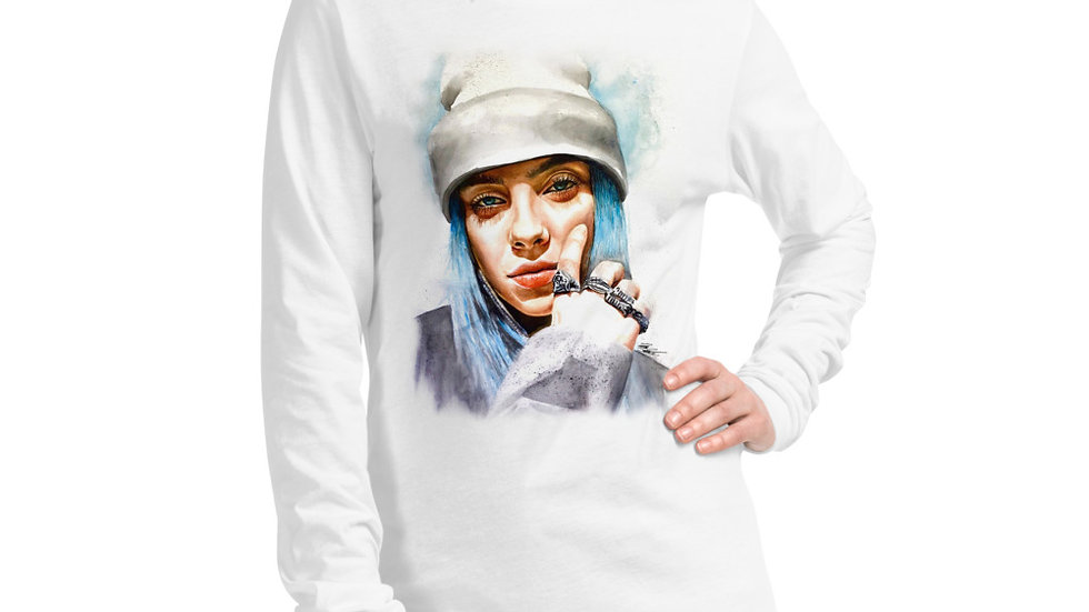 Billie Eilish #1 Art Long Sleeve T