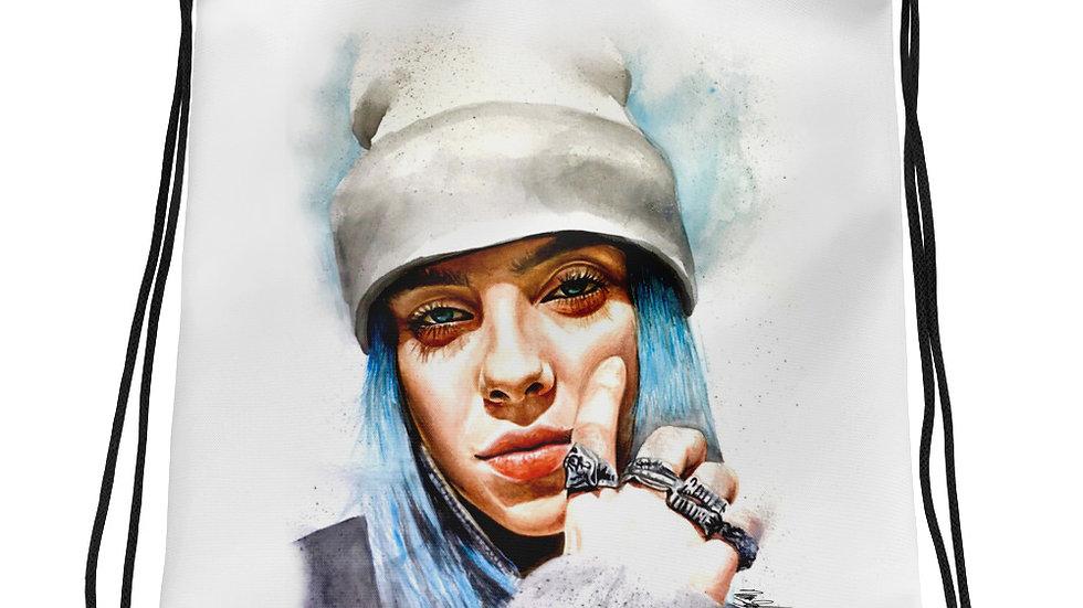 Billie Eilish #1 Art Drawstring