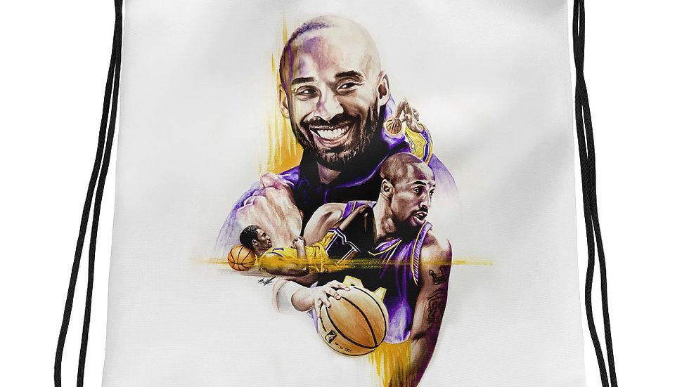 Kobe Bryant #1 Art Drawstring