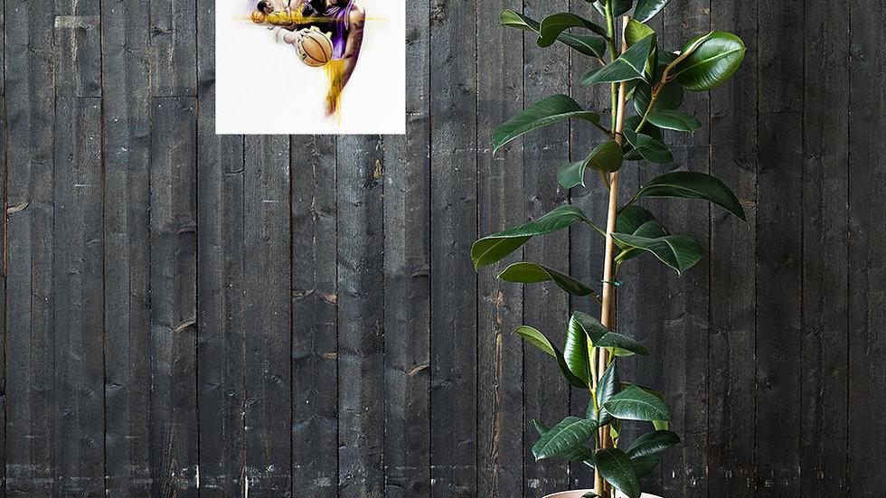 Kobe Bryant #1 Art Poster