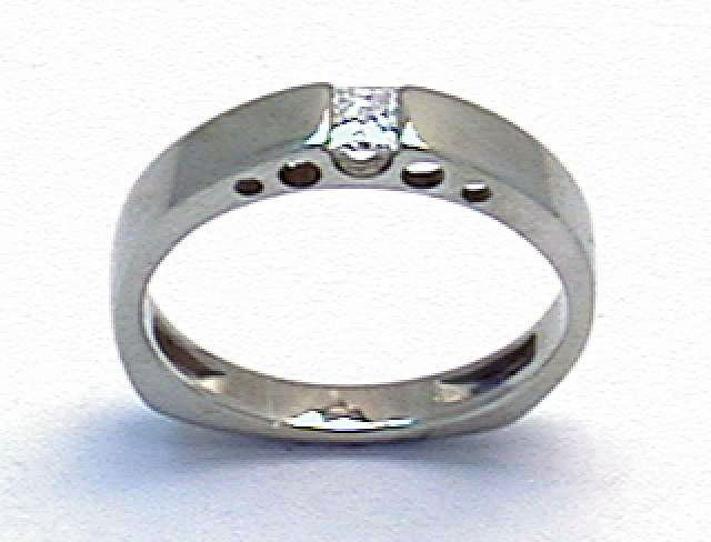 Contemporary Cathedral Ring