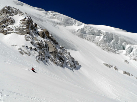 Ski touring in Kazakhstan: Tuyuk-Su
