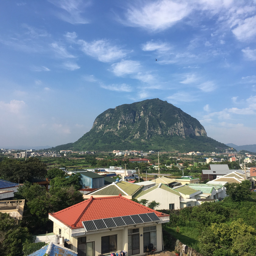 One of the prettiest mountains in Jeju Island