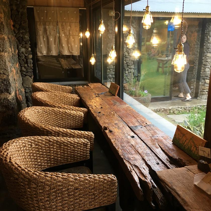 Sool Igneun Jip is an artisan brewery and makgeolli tasting cafe in Jeju Island