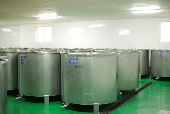 Fermentation tanks for Jeju Makgeolli