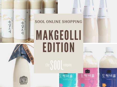 Buying Sool Online:  The Makgeolli Edition