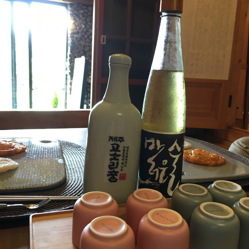 This traditional Korean rice wine is made at the brewery and you can have tastings in the garden.