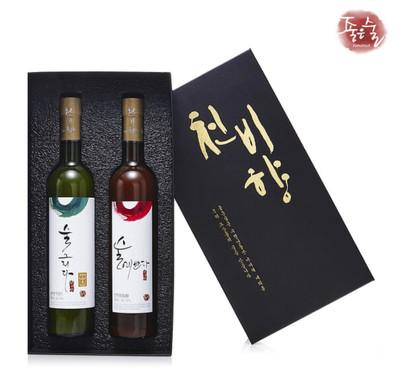 Cheonbihyang Takju - Sool Yebbuda and Sool Geurida from the Joeun Sool Brewery