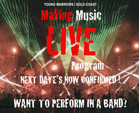 GOLD COAST KIDS (12-17) ... WANNA JOIN A BAND? NEW YOUNG WARRIORS DATES CONFIRMED