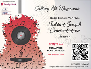 CASH PRIZES FOR SONGWRITERS FROM EASTERN RADIO