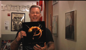 WATCH: METALLICA'S JAMES HETFIELD PRAISE MELBOURNE'S OPAL OCEAN