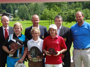 Sam (11 years old) wins at Austrian Junior Golf Tour.