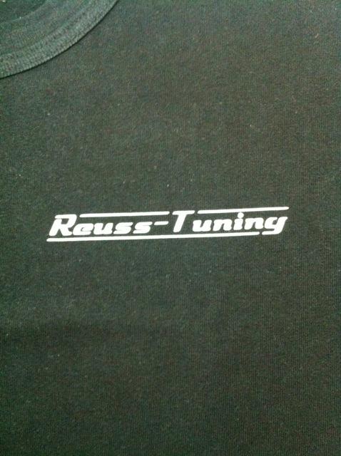 T-Shirt Reuss Tuning 1 cm Schriftgrö