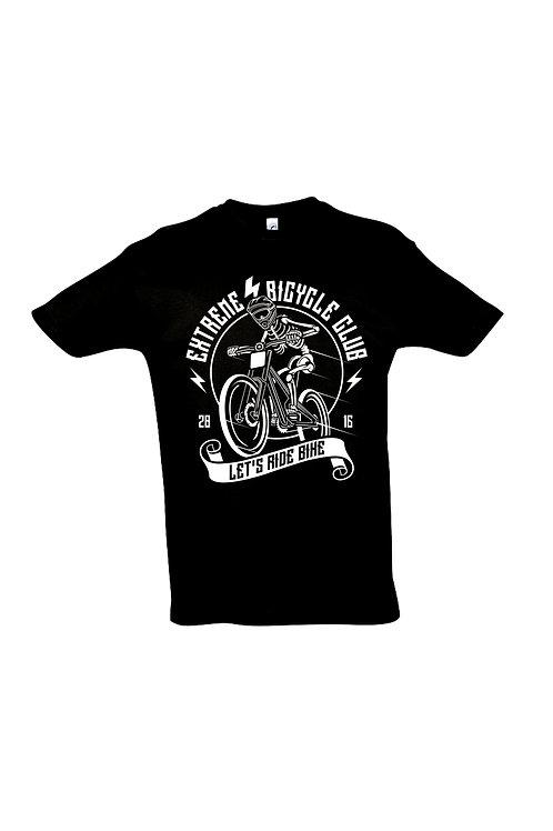 LET´s RIDE BIKE Herren T-Shirt Schwarz