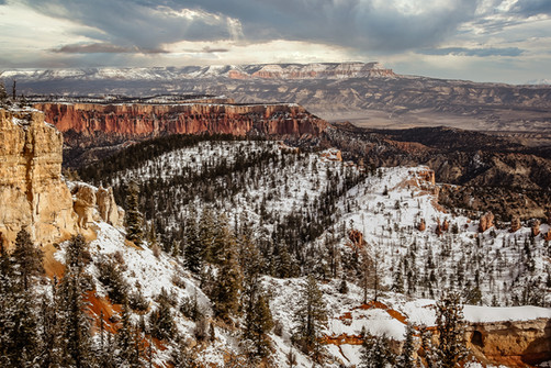 Across Bryce Canyon