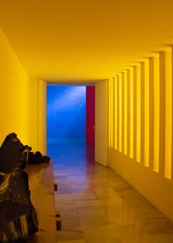 Casa Gilardi Hallway to Courtyard