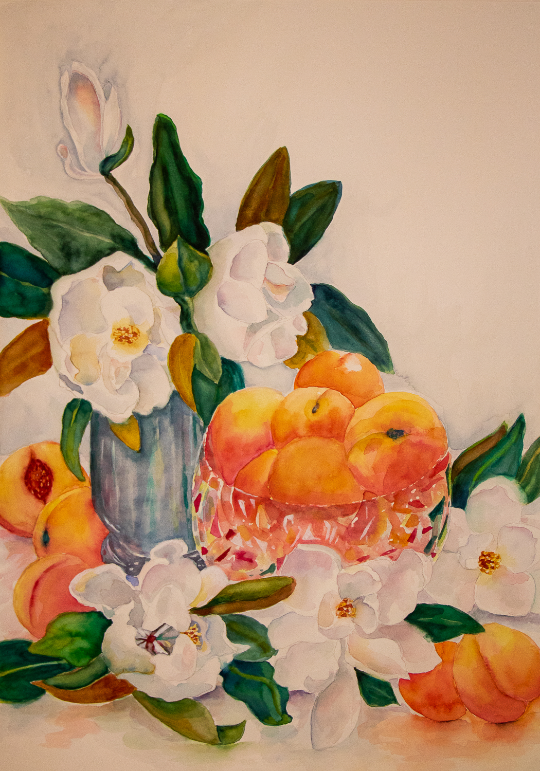 Peaches and Magnolias