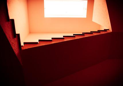 Casa Gilardi Main Stairway