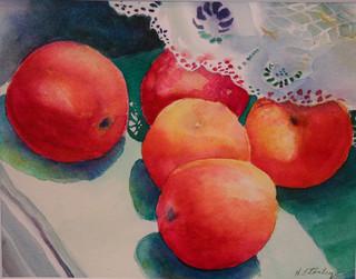 Peaches & Lace