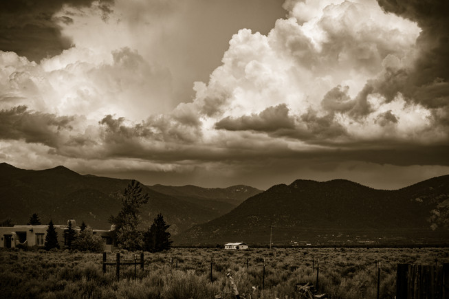 Taos Clouds 2
