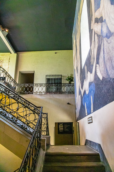Stairwell in Historic City Center
