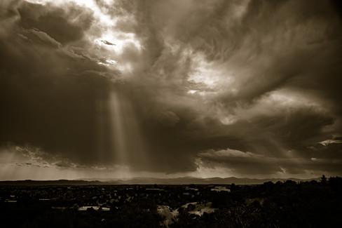 Clouds in Santa Fe