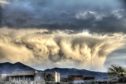 Taos Snow Clouds