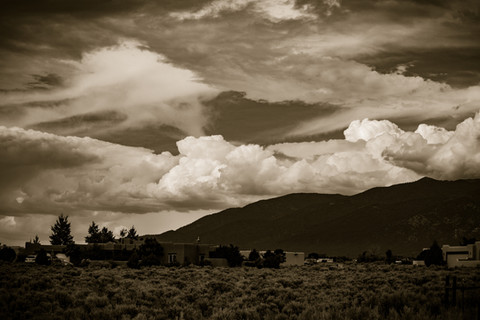 Taos Clouds 1