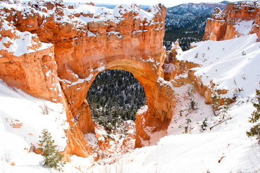 Early Snow at Bryce Canyon 3