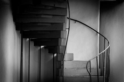 Black Stairwell