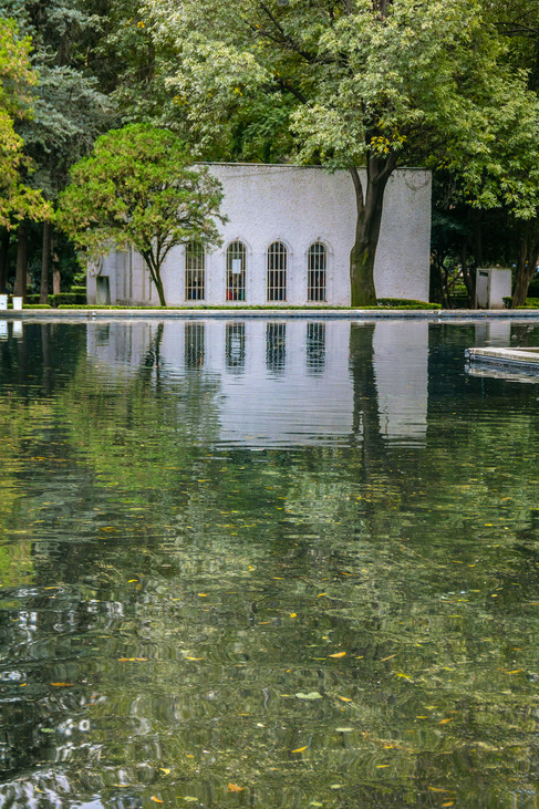 Reflection at Parque Lincoln